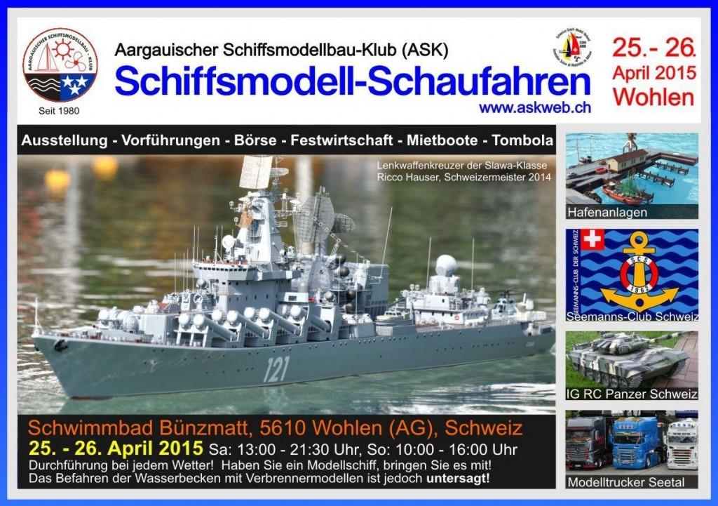 ASK Schiffsmodell-Schaufahren 2015 @ Wohlen | Wohlen | Aargau | Schweiz