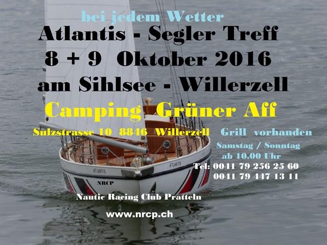 Atlantis / Segel Treff @ Camping Grüner Aff | Willerzell | Schwyz | Schweiz