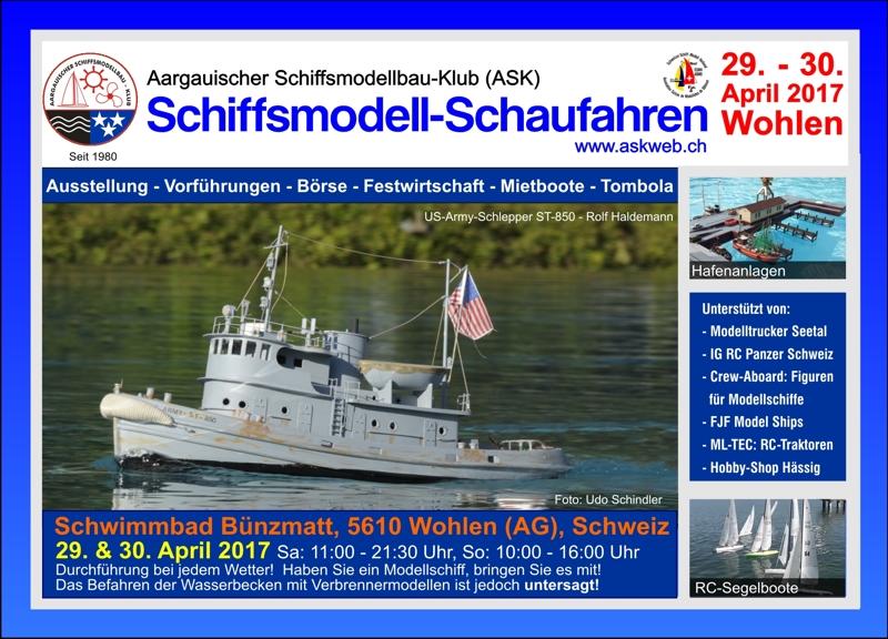 ASK Schiffsmodellschaufahren @ Schwimmbad Bünzmatt | Wohlen | Aargau | Schweiz