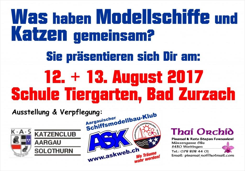ASK Schiffsmodellausstellung Schule Tiergarten, Zurzach (AG) @ Schule Tiergarten | Bad Zurzach | Aargau | Schweiz