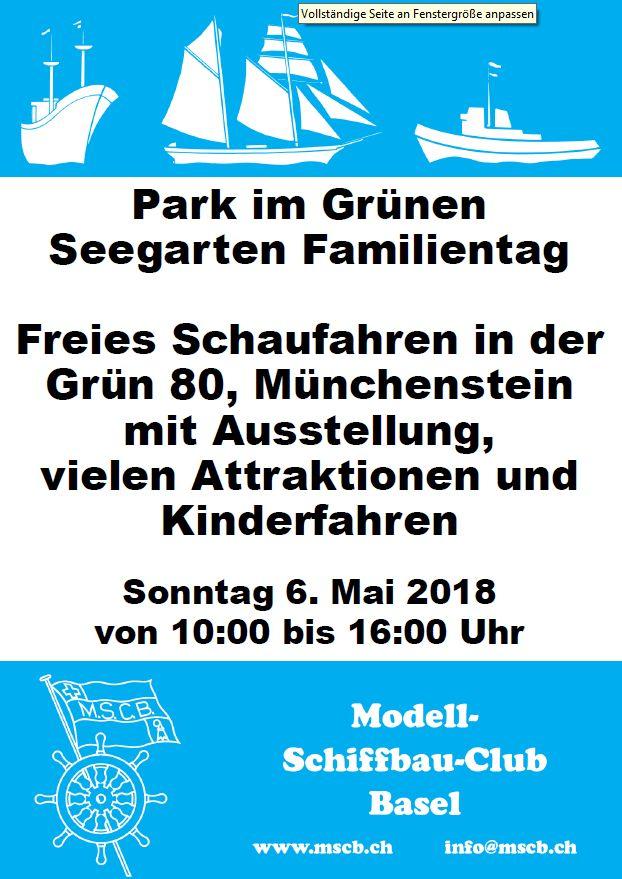 MSCB: Freies Schaufahren in der Grün 80, Münchenstein @ Grün 80 | Münchenstein | Basel-Landschaft | Schweiz