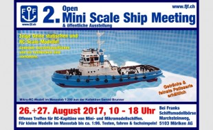 Flyer 2. Open Mini Scale Ship Meeting 26. August 2017 640x395