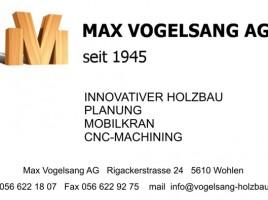 Logo Max Vogelsang AG 640 x 395 for Banner