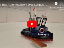 "Mini Tug / Boom Boat ""Log Bug 18"""